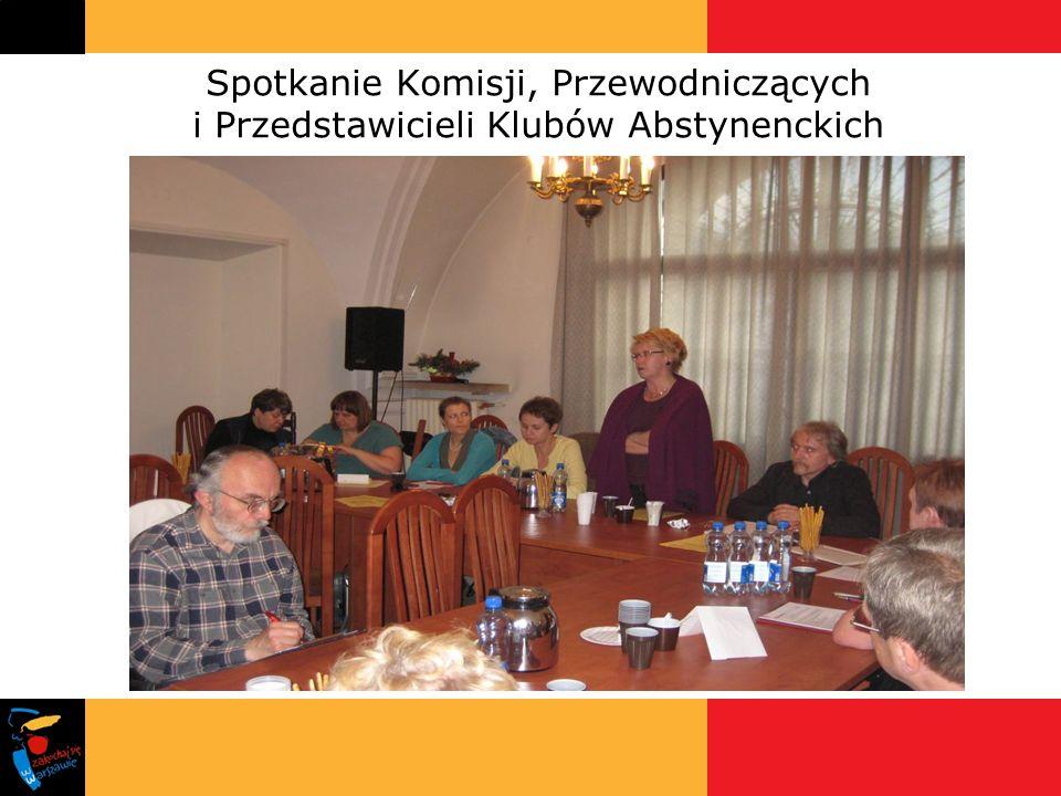 Spotkanie Komisji, Przewodniczących i Przedstawicieli Klubów Abstynenckich