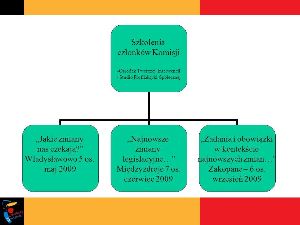 INNE INICJATYWY I DZIAŁANIA KOMISJI Komisja w roli eksperta Udział p.