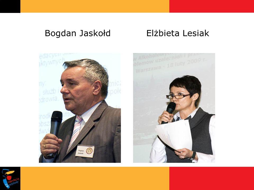 Bogdan JaskołdElżbieta Lesiak