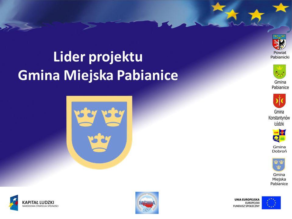 Lider projektu Gmina Miejska Pabianice
