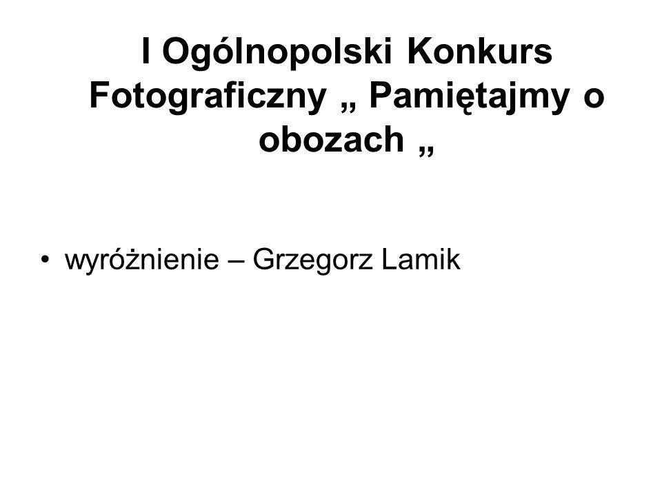 Konkurs Fotograficzny – Obiekty w województwie śląskim I wyróżnienie - Wojciech Migas