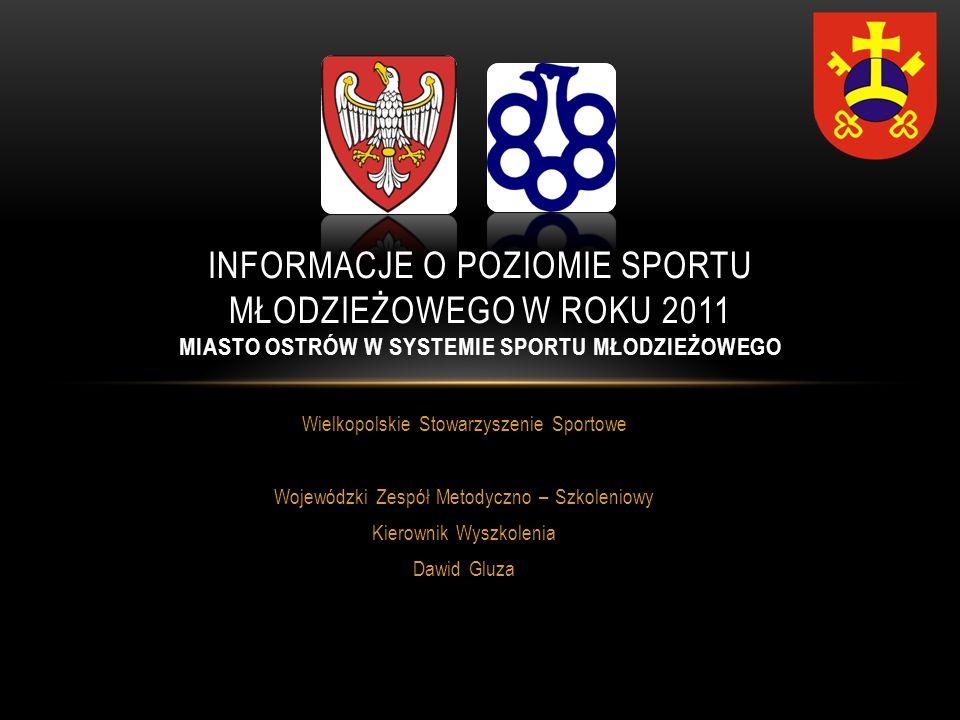POWIAT OSTROWSKI I MIASTO OSTRÓW WLKP.Ilość uczestników finałów OOM 2012 pow.
