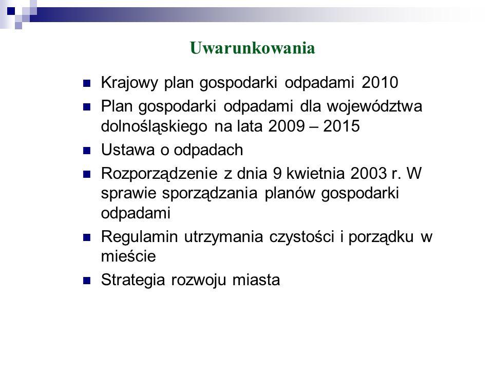 Na terenie miasta Bolesławiec można wyróżnić następujące systemy zbierania odpadów komunalnych: zbiórka odpadów niesegregowanych (zmieszanych) w pojemnikach lub workach, zbiórka odpadów z targowisk, zbiórka odpadów z tzw.