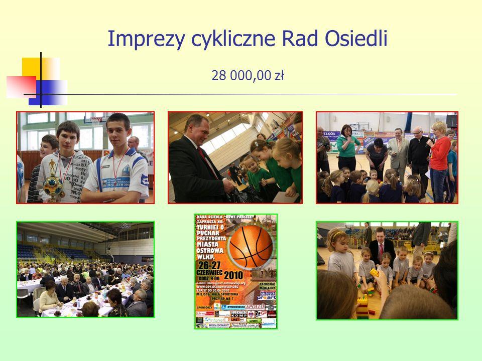Imprezy cykliczne Rad Osiedli 28 000,00 zł