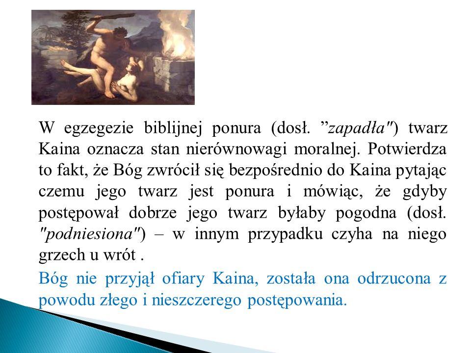 W egzegezie biblijnej ponura (dosł. zapadła