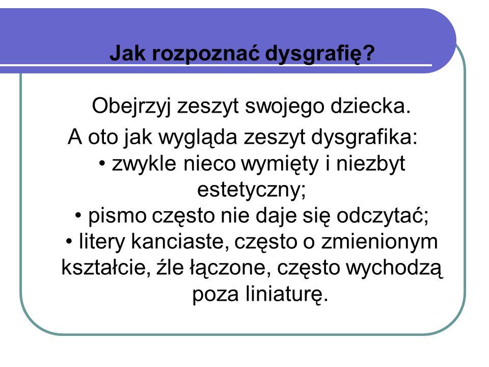 Jak rozpoznać dysleksję??.