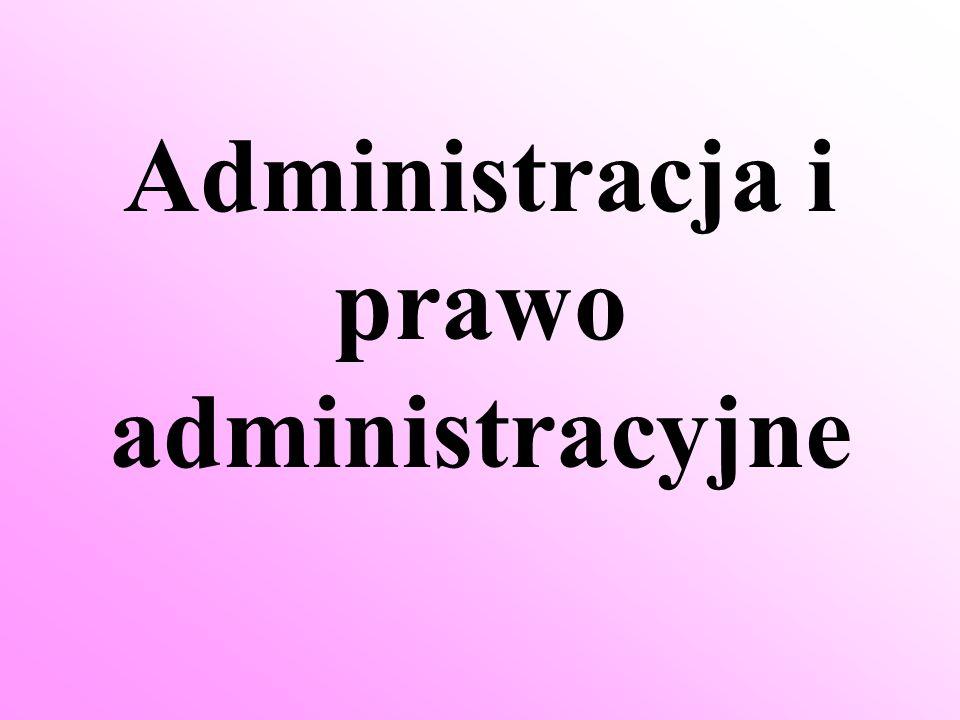 Prawo administracyjne jest gałęzią prawa odnoszącą się do różnych aspektów działalności administracji publicznej