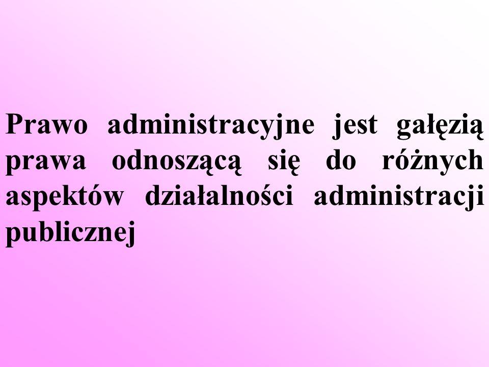 Administracja publiczna oznaczać może: w znaczeniu organizacyjnym (podmiotowym) - system organów państwowych, organów samorządu terytorialnego i innych podmiotów biorących udział w administrowaniu, czyli wykonujących funkcje z zakresu administracji publicznej w znaczeniu materialnym (przedmiotowym) - każdą zorganizowaną działalność organów państwa i samorządu terytorialnego znajdującą się w zakresie ich zadań i kompetencji ustanowionych prawem, polegającą na zarządzaniu sprawami państwa, związków samorządowych i sprawami obywateli wypełnianą głównie poprzez realizację w indywidualnych przypadkach ogólnych norm prawa oraz podejmowanie w interesie państwa i obywateli czynności organizacyjnych i technicznych