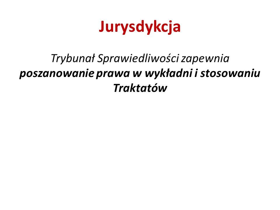 Jurysdykcja Trybunał Sprawiedliwości zapewnia poszanowanie prawa w wykładni i stosowaniu Traktatów
