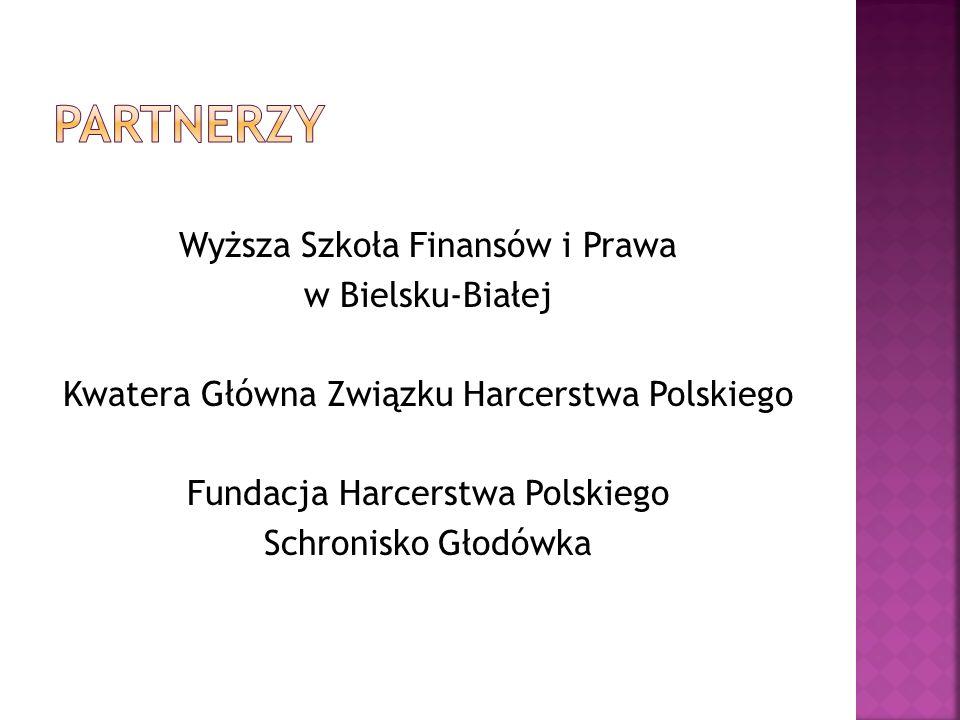 Wyższa Szkoła Finansów i Prawa w Bielsku-Białej Kwatera Główna Związku Harcerstwa Polskiego Fundacja Harcerstwa Polskiego Schronisko Głodówka