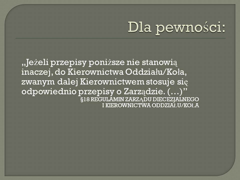 Regulowanie sk ł adek Posiadanie zeszytu sk ł adek Posiadanie zeszytu przychodów i rozchodów Korespondencja z Zarz ą dem i innymi instytucjami itp.