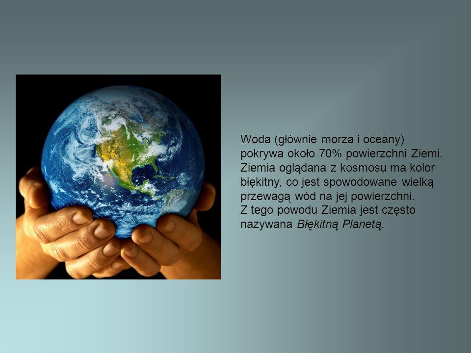 Wody mórz i oceanów dostarczają pokarmu dla człowieka.