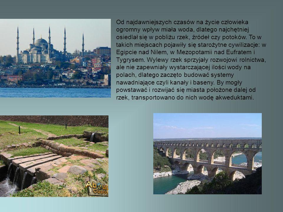 Działanie wody nie musi przynosić tylko wymiernych korzyści dla człowieka, może ona bowiem rzeźbić i modelować wybrzeża, a w ten sposób tworzyć różnorodne krajobrazy.