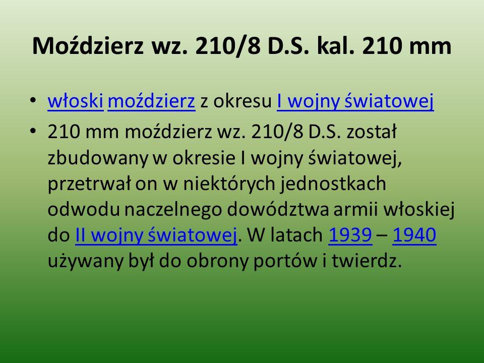 Moździerz wz.210/8 D.S. kal.