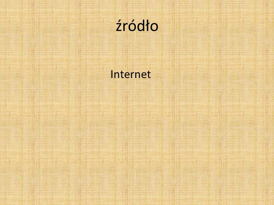 źródło Internet