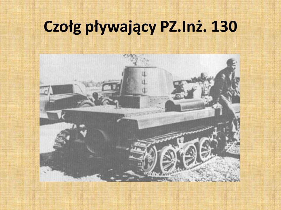 Czołg pływający PZ.Inż. 130