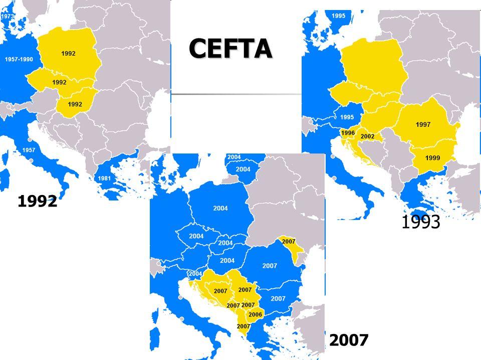 1992 1993 2007 CEFTA