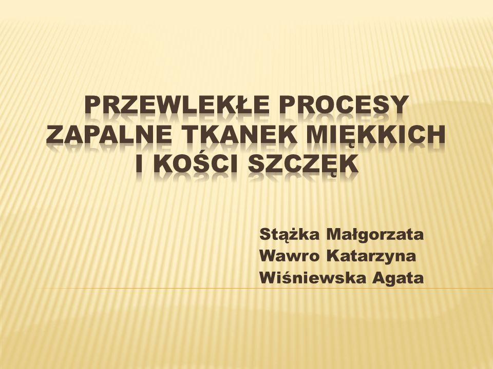 Stążka Małgorzata Wawro Katarzyna Wiśniewska Agata