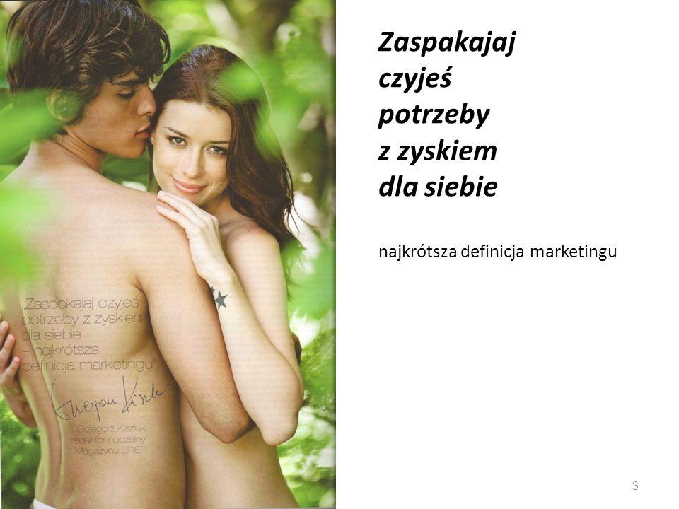 3 Zaspakajaj czyjeś potrzeby z zyskiem dla siebie najkrótsza definicja marketingu