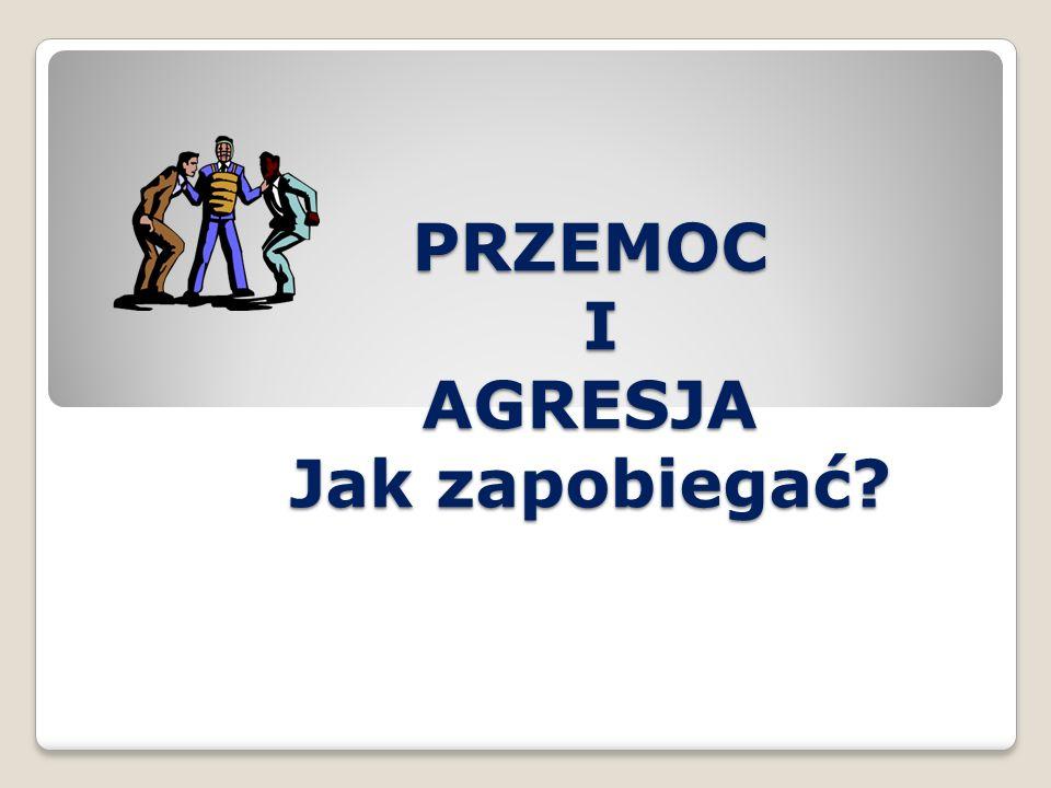 1.Uświadomienie problemu zjawiska agresji i przemocy 2.