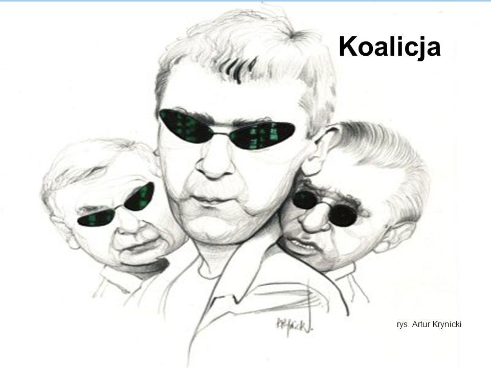 Koalicja rys. Artur Krynicki