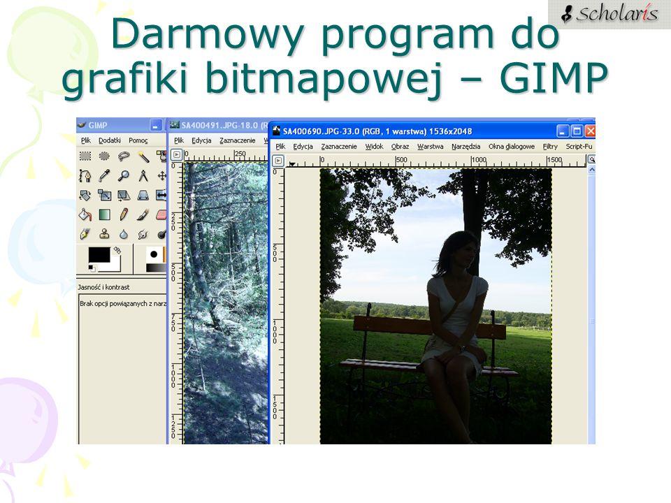 Darmowy program do grafiki bitmapowej – GIMP