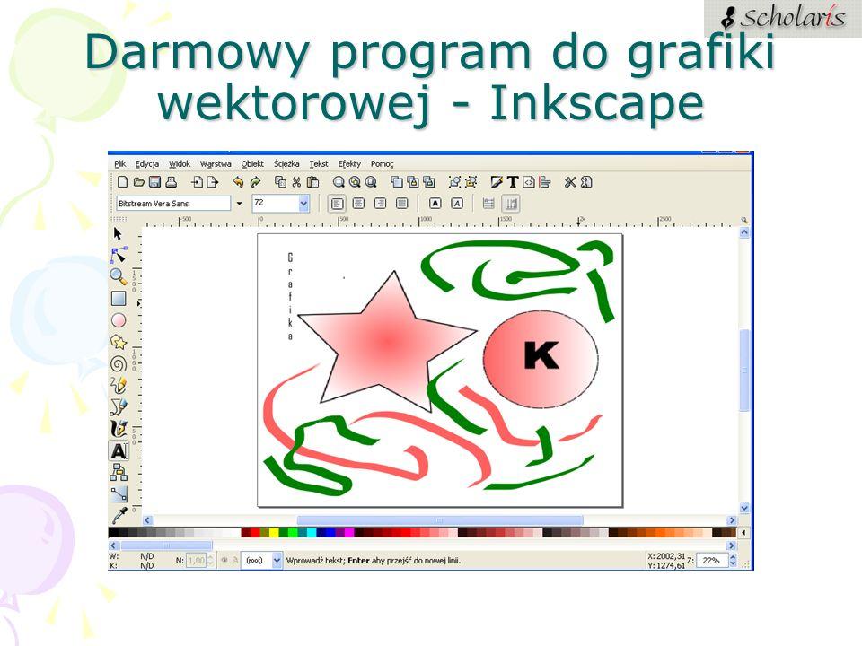 Darmowy program do grafiki wektorowej - Inkscape