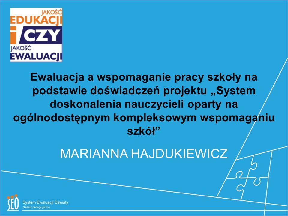 Pilotaż nowego systemu Projekty powiatowe, Działanie 3.5 Nowa Rola Placówki Doskonalenia