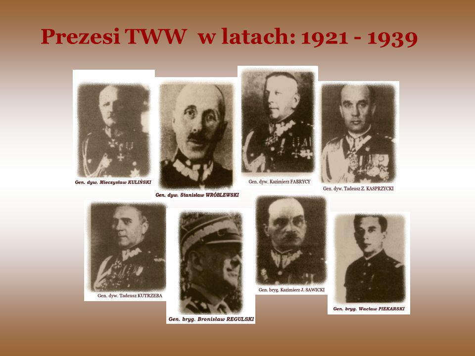 Kolejne Zjazdy TWW uwzględniając potrzeby armii, a także rozwijającej się współpracy ze społeczeństwem, korygowały swoje zapisy statutowe.