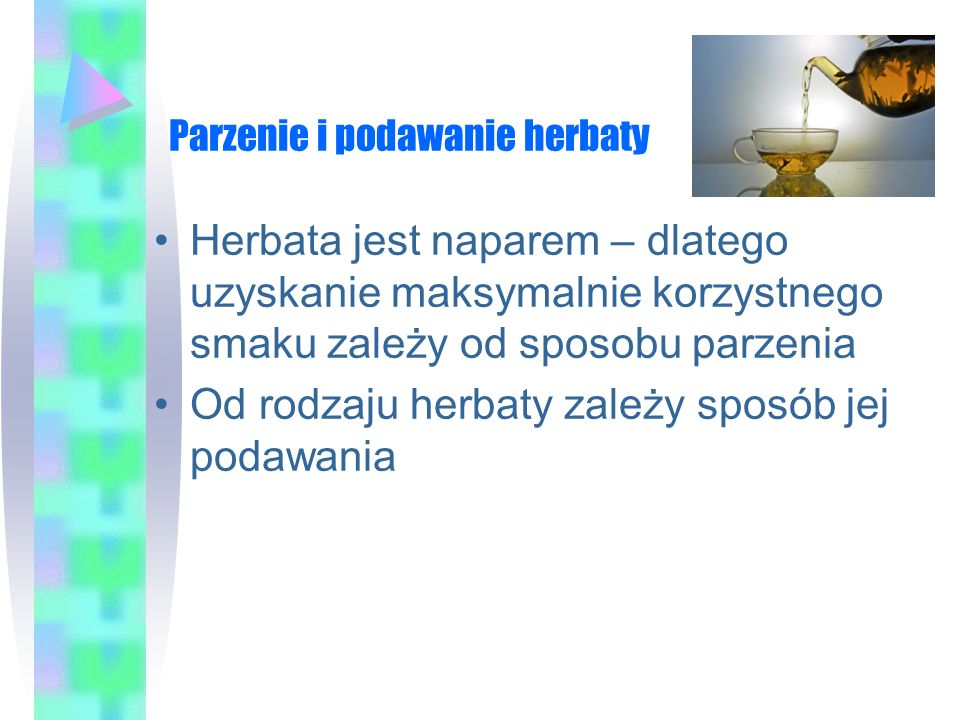 Parzenie doskonałej filiżanki herbaty http://www.youtube.com/watch?v=2o oT1Hl3mks&feature=relatedhttp://www.youtube.com/watch?v=2o oT1Hl3mks&feature=related