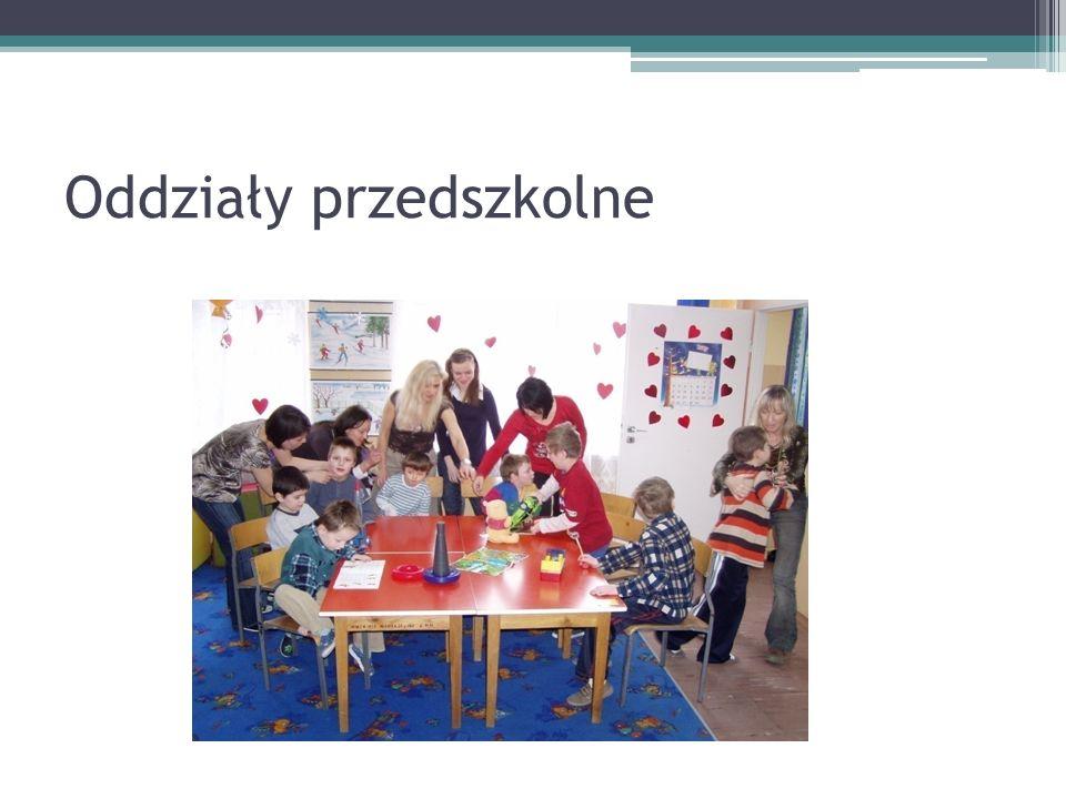Oddziały przedszkolne