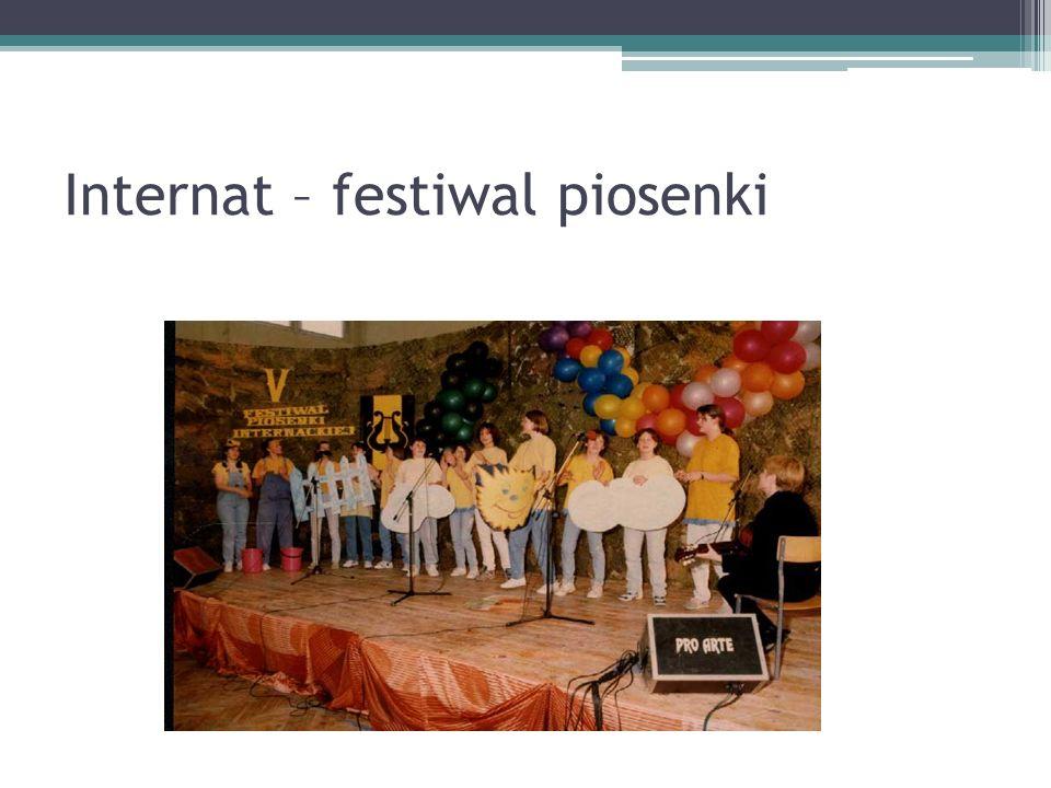 Internat – festiwal piosenki