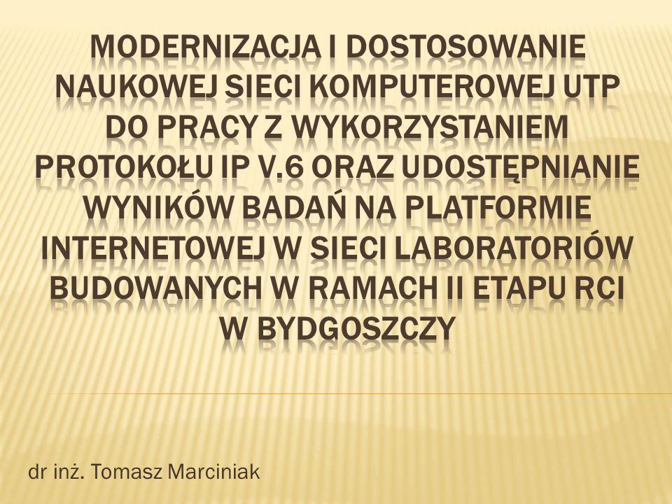 dr inż. Tomasz Marciniak
