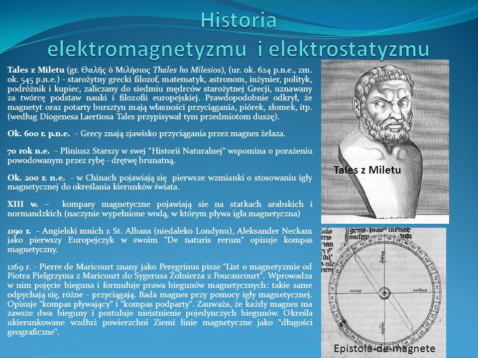 Tales z Miletu (gr. Θαλ ς Μιλήσιος Thales ho Milesios), (ur. ok. 624 p.n.e., zm. ok. 545 p.n.e.) - starożytny grecki filozof, matematyk, astronom, inż