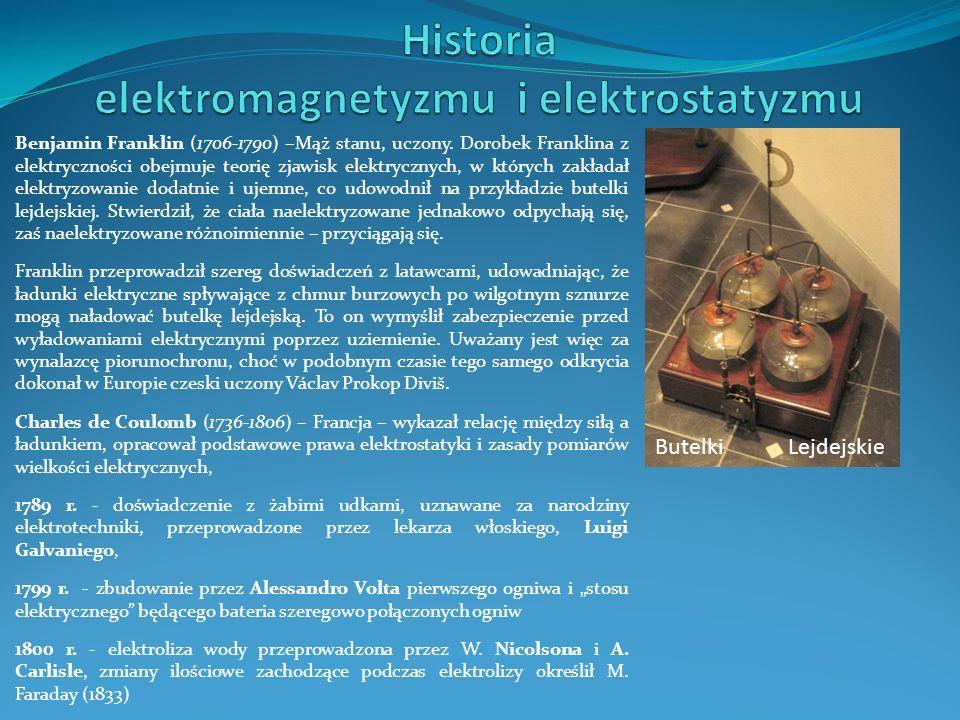 1802 r.- łuk elektryczny Pietrowa 1819 r.