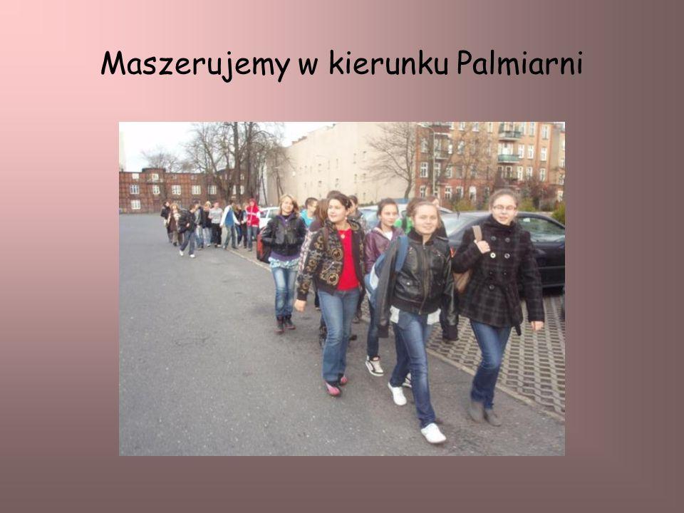 Maszerujemy w kierunku Palmiarni