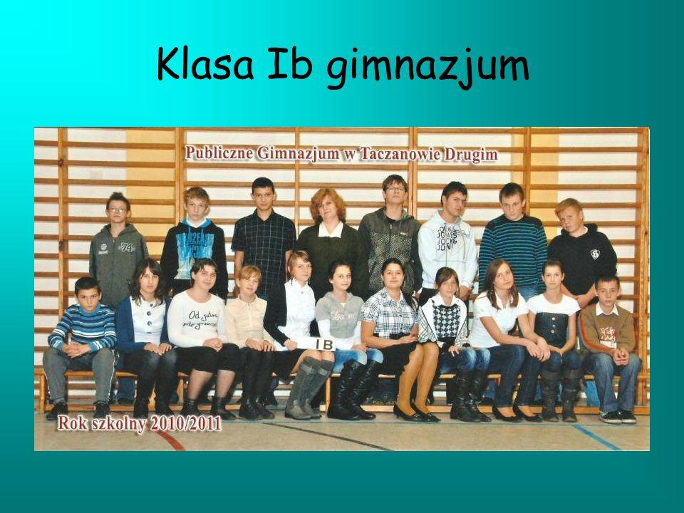Klasa Ib gimnazjum