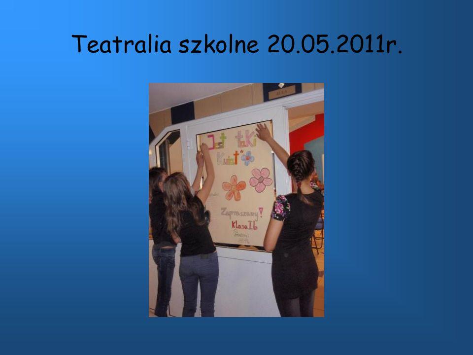 Teatralia szkolne 20.05.2011r.