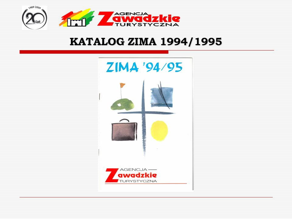 KATALOG ZIMA 1994/1995