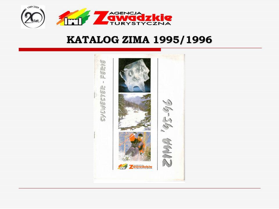 KATALOG ZIMA 1995/1996