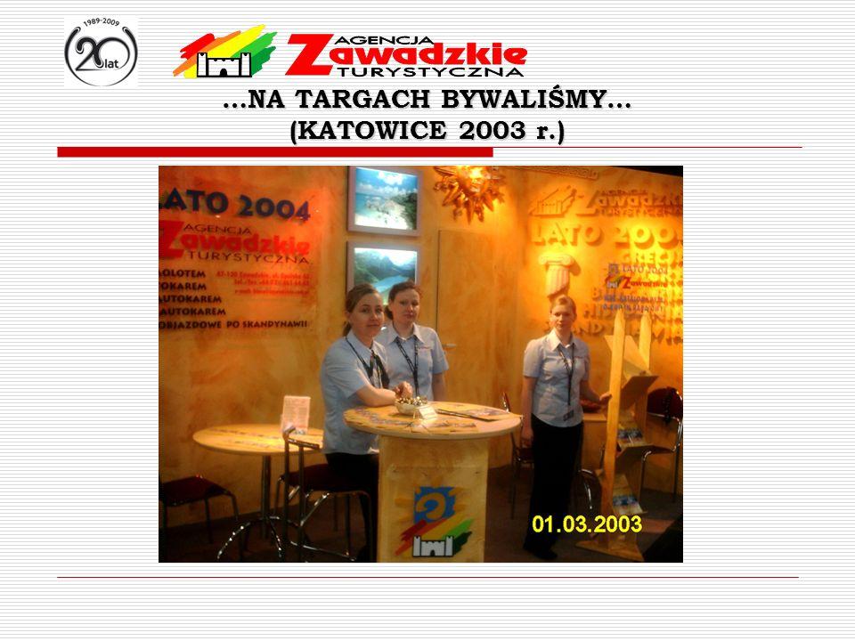 …NA TARGACH BYWALIŚMY… (KATOWICE 2003 r.)