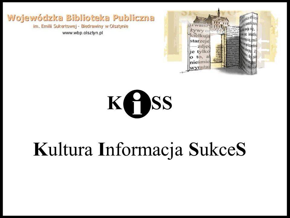 Zgodność projektu ze strategią województwa Budowa systemu informacji lokalnej w oparciu o sieć bibliotek publicznych Projekt jest zgodny ze Strategią rozwoju społeczno-gospodarczego województwa warmińsko-mazurskiego - punkt 6.8 (Dziedzictwo i kultura, Szeroka oferta usług kulturalnych):