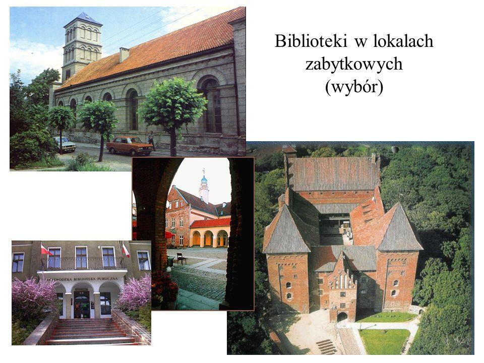 Biblioteki w lokalach zabytkowych (wybór)