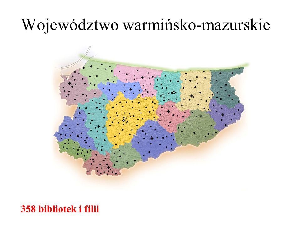Doświadczenia wnioskodawcy Programy i projekty realizowane przez WBP w Olsztynie