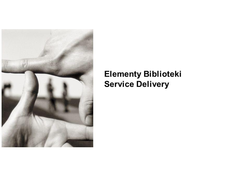 15 Elementy Biblioteki Service Delivery