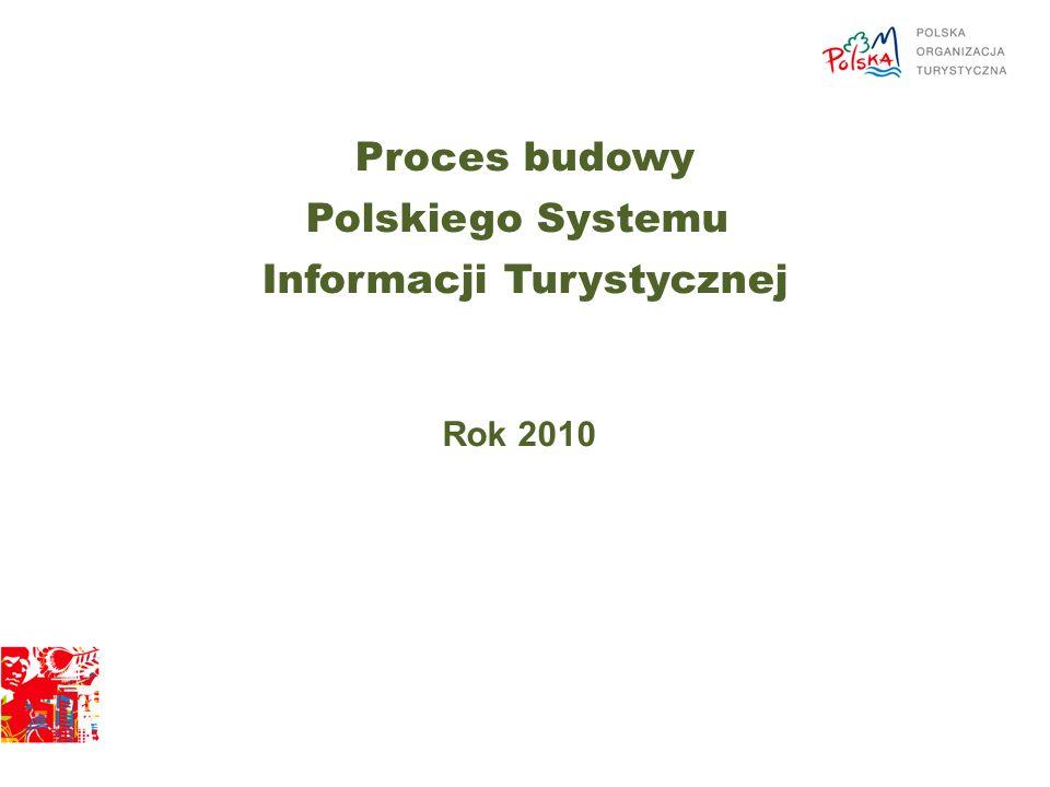 Proces budowy Polskiego Systemu Informacji Turystycznej Rok 2010