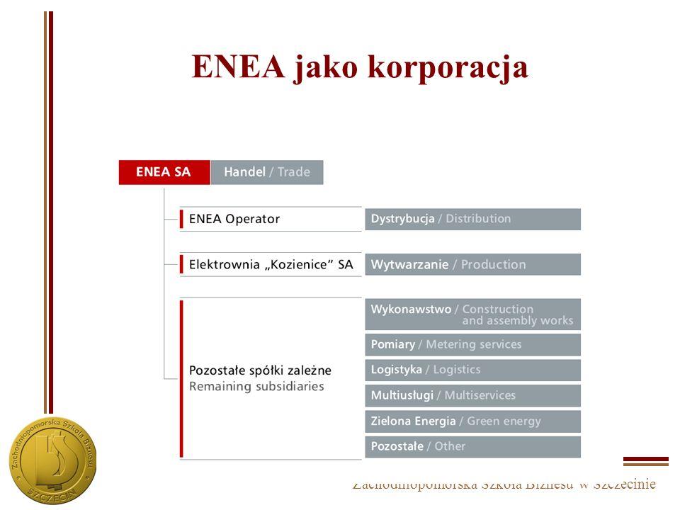 Zachodniopomorska Szkoła Biznesu w Szczecinie Elektrim S.A. – korporacja business units