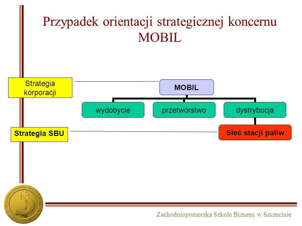 Zachodniopomorska Szkoła Biznesu w Szczecinie Strategia koncentracji... Decydowanie o tym, które grupy i potrzeby klientów firma powinna obsługiwać ma