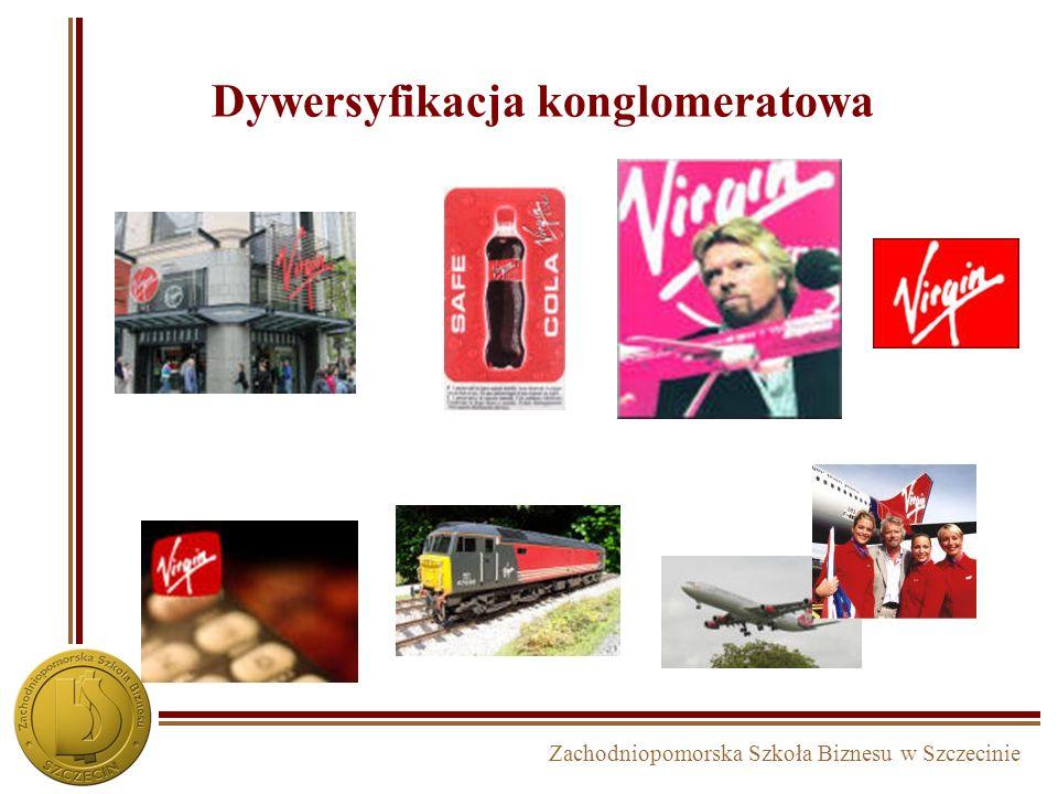 Zachodniopomorska Szkoła Biznesu w Szczecinie Dywersyfikacja konglomeratowa w DAEWOO