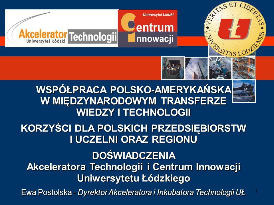22 PROGRAM Mining&Matching KOJARZENIA PARTNERÓW POLSKA – USA / UE WSPARCIE DLA MIĘDZYNARODOWEGO TRANSFERU WIEDZY I TECHNOLOGII Polska – USA/UE CELE PROGRAMU –Dla firm polskich i jednostek B+R: Pozyskanie nowych technologii, innowacyjnych rozwiązań organizacyjnych, rozwinięcia produkcji, wejścia na nowe rynki z własnymi produktami i usługami (gł.